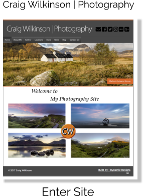 Craig Wilkinson | Photography Enter Site